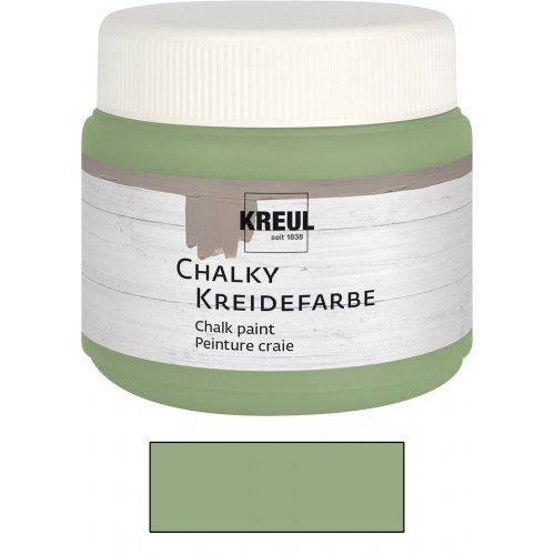 Křídová barva CHALKY PAINT 150 ml sametová olivová