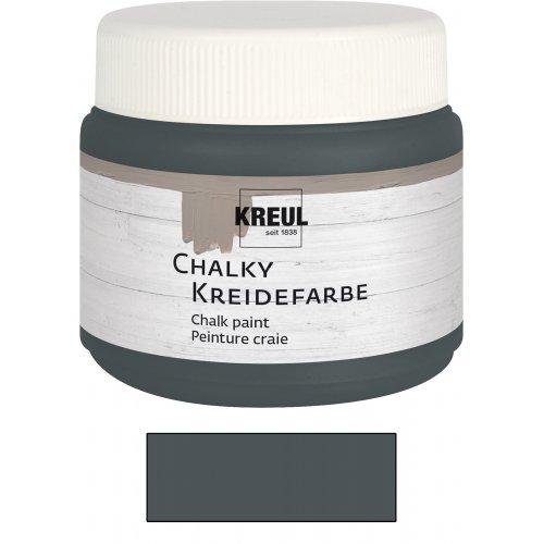 Křídová barva CHALKY PAINT 150 ml vulkanická šedá