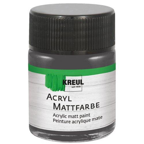 Akrylová barva matná KREUL 50 ml grafitová