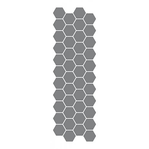 Samolepící šablona 13 x 40 cm Medová plástev