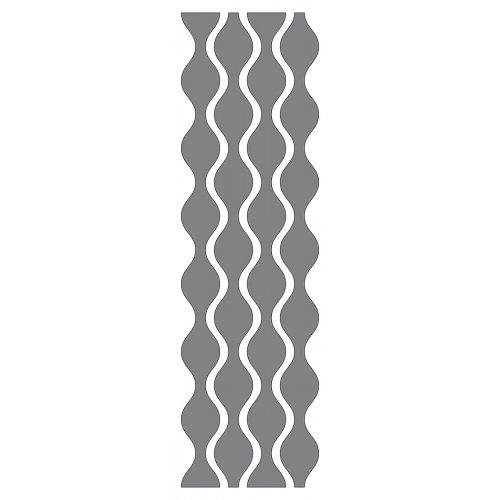 Samolepící šablona 13 x 40 cm Tapeta