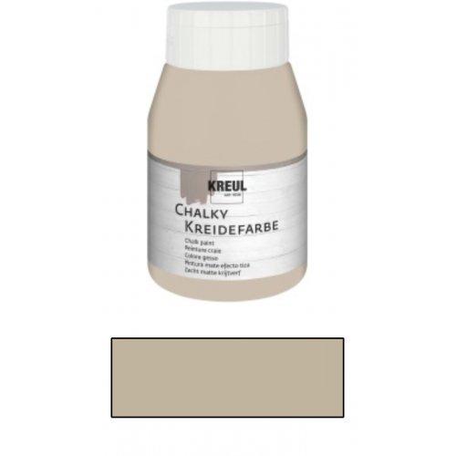 Křídová barva CHALKY PAINT 500 ml ušlechtilá nugátová