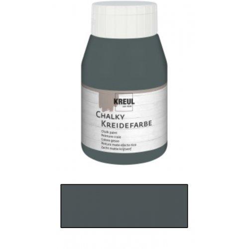 Křídová barva CHALKY PAINT 500 ml vulkanická šedá