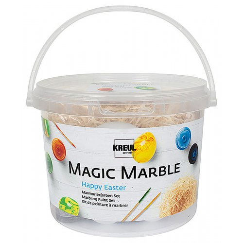 Sada Mramorovací barva Magic Marble veselé velikonoce