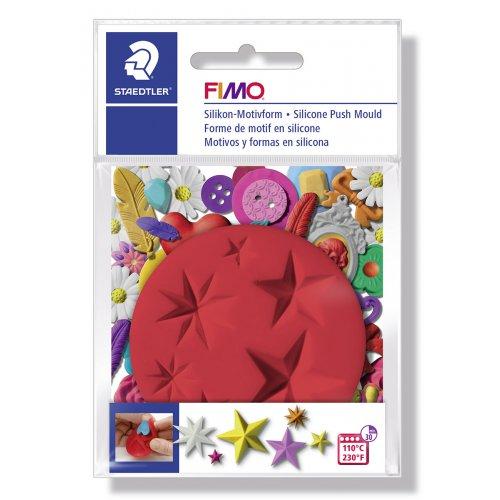 FIMO Silikonová vytlačovací forma - Hvězdy