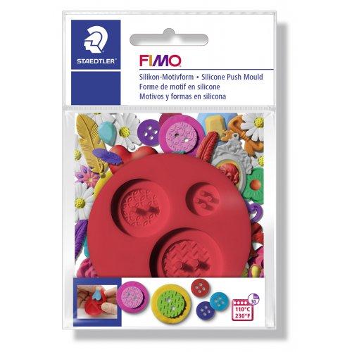 FIMO Silikonová vytlačovací forma - Knoflík