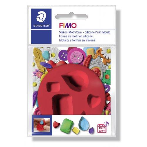 FIMO Silikonová vytlačovací forma - Drahokam