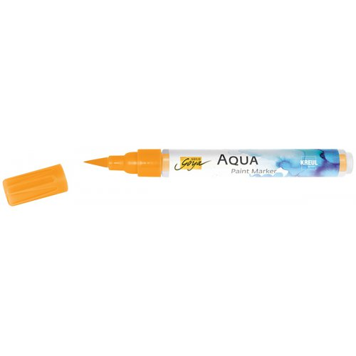 Aqua marker SOLO GOYA oranžová - CK18102_SOLO_GOYA_Aqua_Paint_Marker_open.jpg