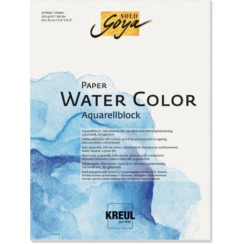 Papír akvarelový KREUL 200 g/m2 - DIN A3
