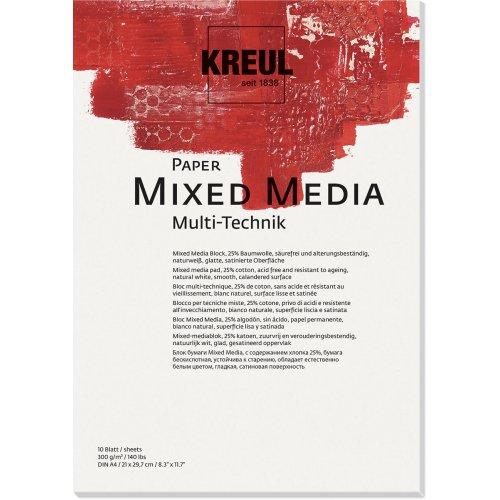 Papír pro různé techniky KREUL 300 g/m2 - DIN A4