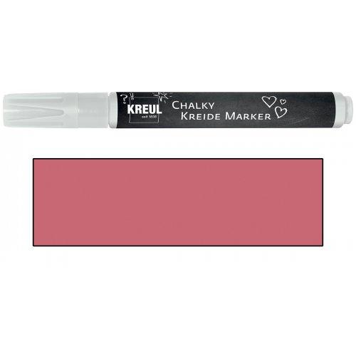 Křídový marker KREUL Medium příjemná červená
