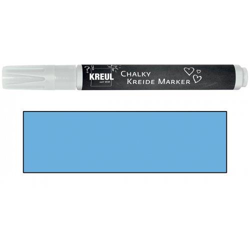 Křídový marker KREUL Medium nordická modrá