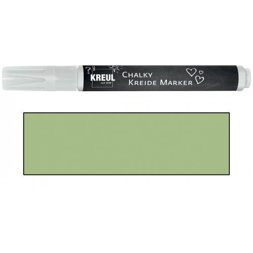 Křídový marker KREUL Medium rozmarýnová zelená