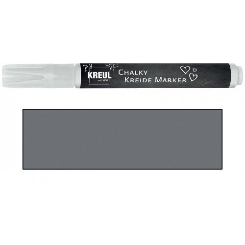 Křídový marker KREUL Medium vulkanická šedá