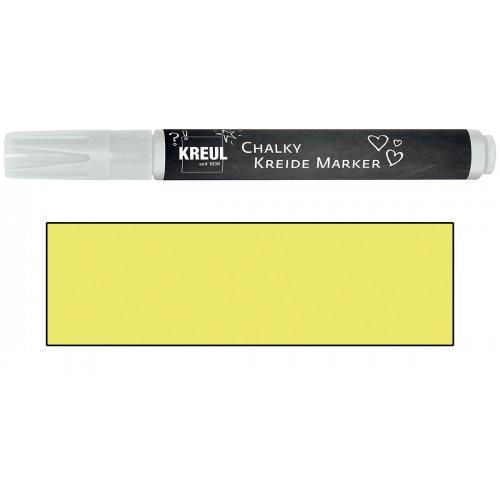 Křídový marker KREUL Medium neonová žlutá