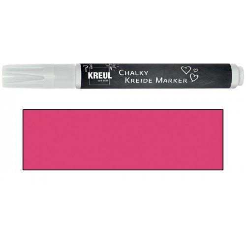Křídový marker KREUL Medium neonová růžová