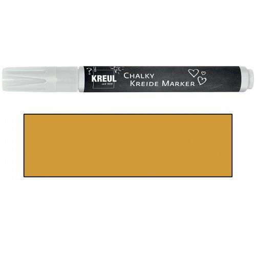 Křídový marker KREUL Medium svítící zlatá