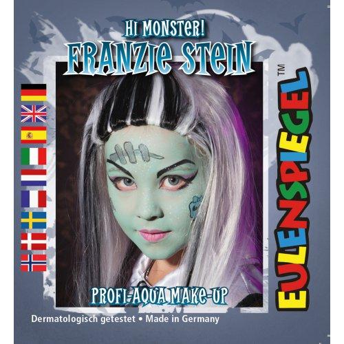 Sada barev na obličej - Frankensteinova žena