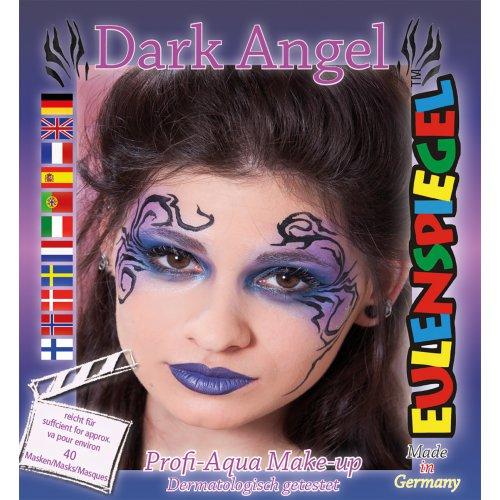 Sada barev na obličej - Temný anděl