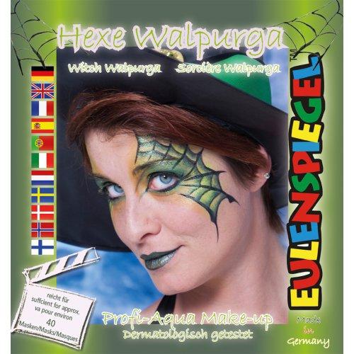 Sada barev na obličej - Čarodějnice Walpurga
