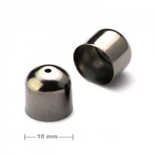 Kaplík hladký 10mm antracit  10 ks v balení