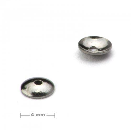 Kaplík ketlovací 4mm antracit  10 ks v balení