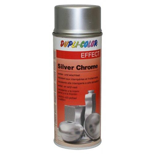 Sprej s efektem stříbrného chromu