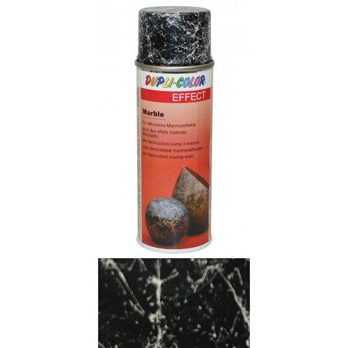Sprej s mramorovým efektem stříbrná