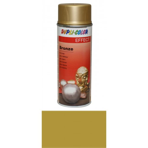 Bronzový sprej zlatá