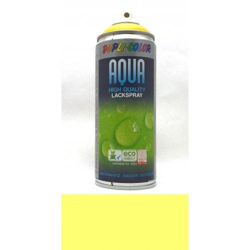 Sprej Aqua lak na vodní bázi dopravní žlutá