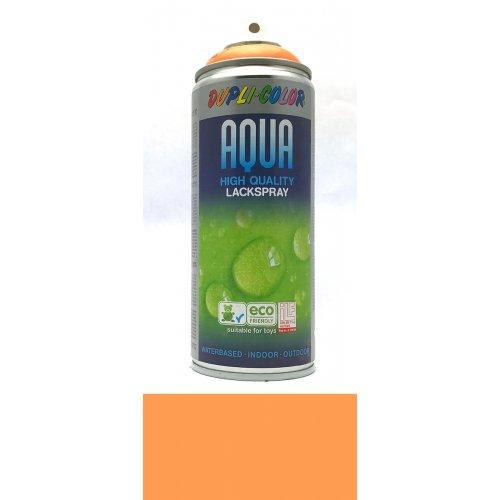 Sprej Aqua lak na vodní bázi oranžová pastelová