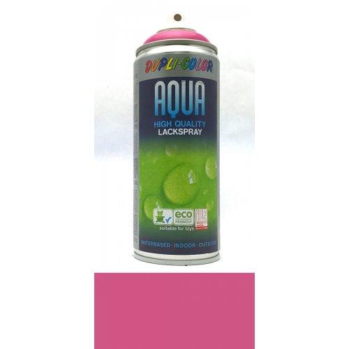 Sprej Aqua lak na vodní bázi růžovo-fialová