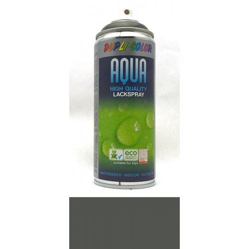 Sprej Aqua lak na vodní bázi antracitová šedá