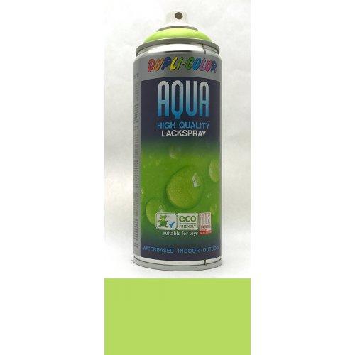 Sprej Aqua lak na vodní bázi jarní zelená