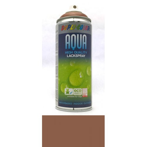 Sprej Aqua lak na vodní bázi terakota