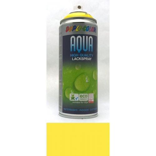 Sprej Aqua lak na vodní bázi sluneční žlutá
