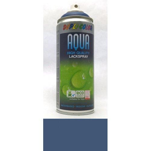 Sprej Aqua lak na vodní bázi enciánová modrá