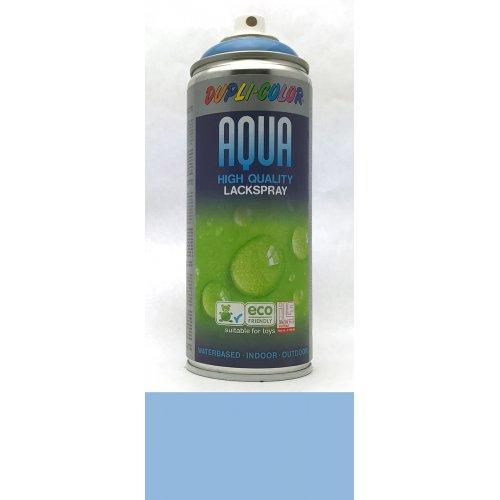 Sprej Aqua lak na vodní bázi světle modrá