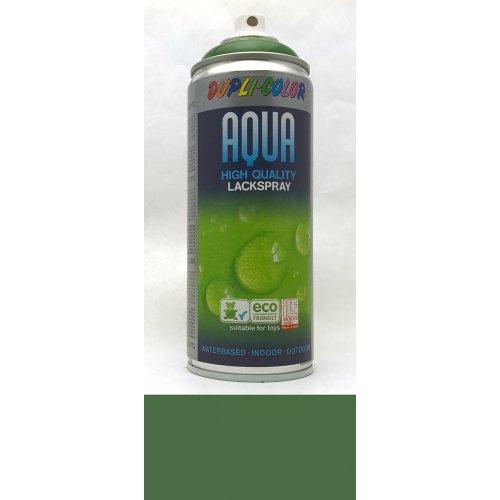 Sprej Aqua lak na vodní bázi listová zeleň