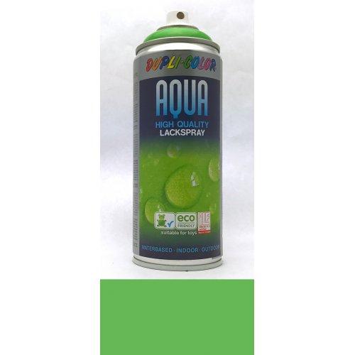 Sprej Aqua lak na vodní bázi zelenožlutá