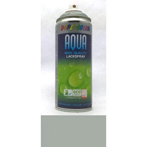 Sprej Aqua lak na vodní bázi stříbrošedá