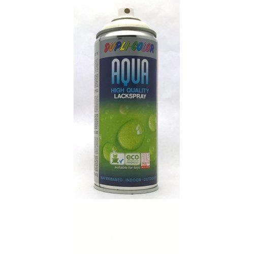 Sprej Aqua lak na vodní bázi krémově bílá