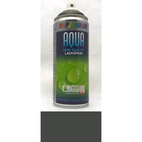 Sprej Aqua lak na vodní bázi černá lesklá