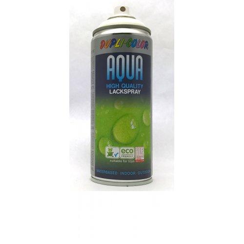 Sprej Aqua lak na vodní bázi bílá matná