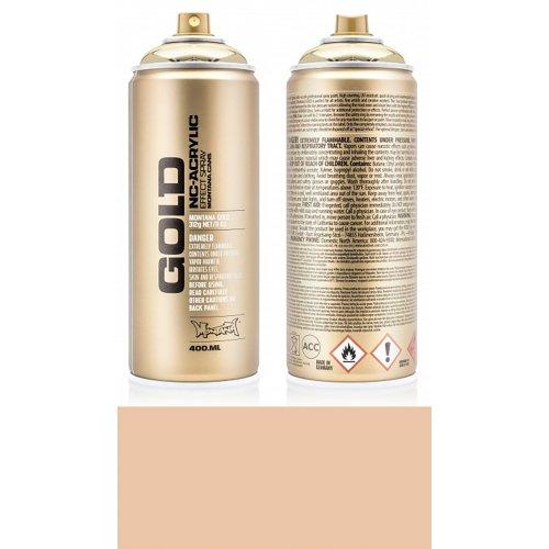 Akrylový sprej Montana Gold 400 ml kapučíno