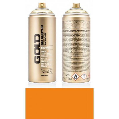 Akrylový sprej Montana Gold 400 ml oranžová