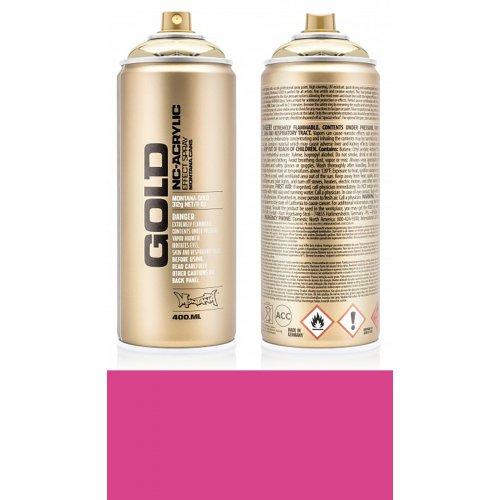 Akrylový sprej Montana Gold 400 ml růžová