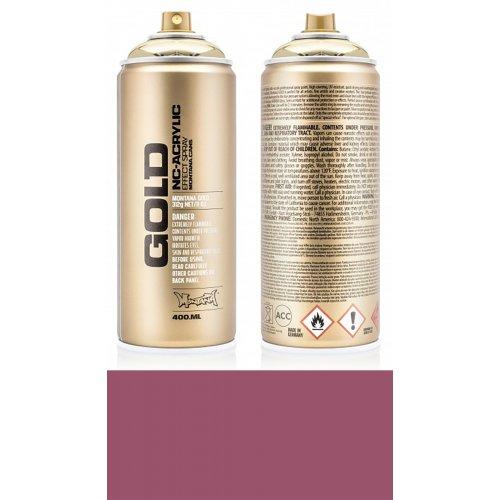 Akrylový sprej Montana Gold 400 ml rezavá růžová