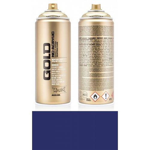Akrylový sprej Montana Gold 400 ml modrý samet