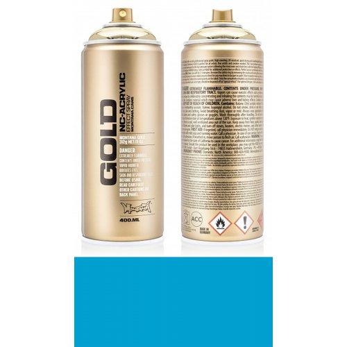 Akrylový sprej Montana Gold 400 ml světle modrá